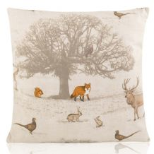 Handmade Freytts Stag and Tree Cushions Various Sizes